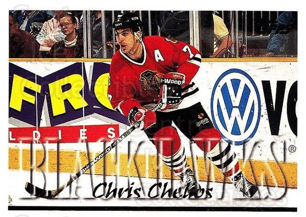 1995-96 Topps #230 Chris Chelios<br/>3 In Stock - $1.00 each - <a href=https://centericecollectibles.foxycart.com/cart?name=1995-96%20Topps%20%23230%20Chris%20Chelios...&quantity_max=3&price=$1.00&code=184968 class=foxycart> Buy it now! </a>