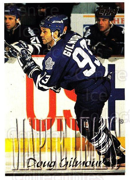 1995-96 Topps #234 Doug Gilmour<br/>2 In Stock - $1.00 each - <a href=https://centericecollectibles.foxycart.com/cart?name=1995-96%20Topps%20%23234%20Doug%20Gilmour...&quantity_max=2&price=$1.00&code=184972 class=foxycart> Buy it now! </a>