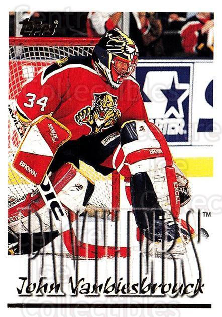1995-96 Topps #252 John Vanbiesbrouck<br/>1 In Stock - $1.00 each - <a href=https://centericecollectibles.foxycart.com/cart?name=1995-96%20Topps%20%23252%20John%20Vanbiesbro...&quantity_max=1&price=$1.00&code=184992 class=foxycart> Buy it now! </a>