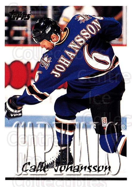 1995-96 Topps #274 Calle Johansson<br/>3 In Stock - $1.00 each - <a href=https://centericecollectibles.foxycart.com/cart?name=1995-96%20Topps%20%23274%20Calle%20Johansson...&quantity_max=3&price=$1.00&code=185015 class=foxycart> Buy it now! </a>