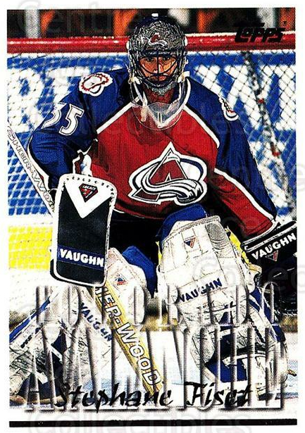 1995-96 Topps #284 Stephane Fiset<br/>2 In Stock - $1.00 each - <a href=https://centericecollectibles.foxycart.com/cart?name=1995-96%20Topps%20%23284%20Stephane%20Fiset...&quantity_max=2&price=$1.00&code=185026 class=foxycart> Buy it now! </a>