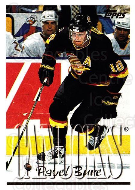 1995-96 Topps #300 Pavel Bure<br/>2 In Stock - $1.00 each - <a href=https://centericecollectibles.foxycart.com/cart?name=1995-96%20Topps%20%23300%20Pavel%20Bure...&quantity_max=2&price=$1.00&code=185045 class=foxycart> Buy it now! </a>