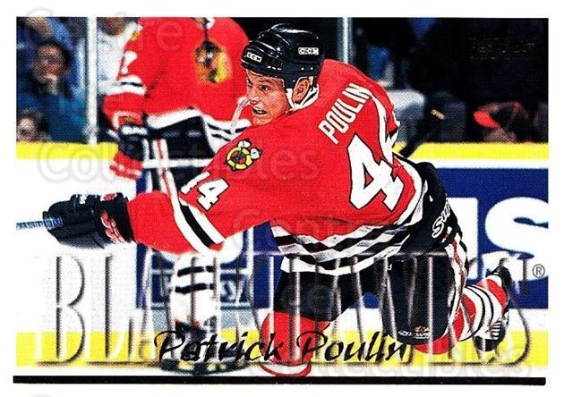 1995-96 Topps #326 Patrick Poulin<br/>4 In Stock - $1.00 each - <a href=https://centericecollectibles.foxycart.com/cart?name=1995-96%20Topps%20%23326%20Patrick%20Poulin...&quantity_max=4&price=$1.00&code=185072 class=foxycart> Buy it now! </a>