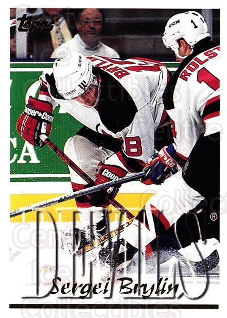1995-96 Topps #35 Sergei Brylin<br/>3 In Stock - $1.00 each - <a href=https://centericecollectibles.foxycart.com/cart?name=1995-96%20Topps%20%2335%20Sergei%20Brylin...&quantity_max=3&price=$1.00&code=185097 class=foxycart> Buy it now! </a>