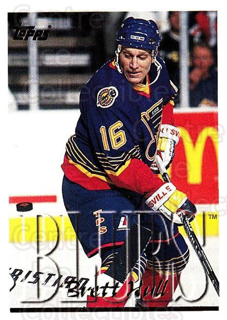 1995-96 Topps #372 Brett Hull<br/>3 In Stock - $2.00 each - <a href=https://centericecollectibles.foxycart.com/cart?name=1995-96%20Topps%20%23372%20Brett%20Hull...&quantity_max=3&price=$2.00&code=185122 class=foxycart> Buy it now! </a>