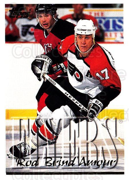 1995-96 Topps #39 Rod Brind'Amour<br/>3 In Stock - $1.00 each - <a href=https://centericecollectibles.foxycart.com/cart?name=1995-96%20Topps%20%2339%20Rod%20Brind'Amour...&quantity_max=3&price=$1.00&code=185137 class=foxycart> Buy it now! </a>