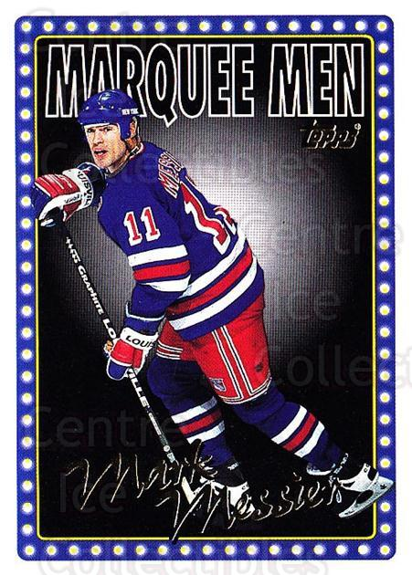 1995-96 Topps #5 Mark Messier<br/>3 In Stock - $1.00 each - <a href=https://centericecollectibles.foxycart.com/cart?name=1995-96%20Topps%20%235%20Mark%20Messier...&quantity_max=3&price=$1.00&code=185149 class=foxycart> Buy it now! </a>