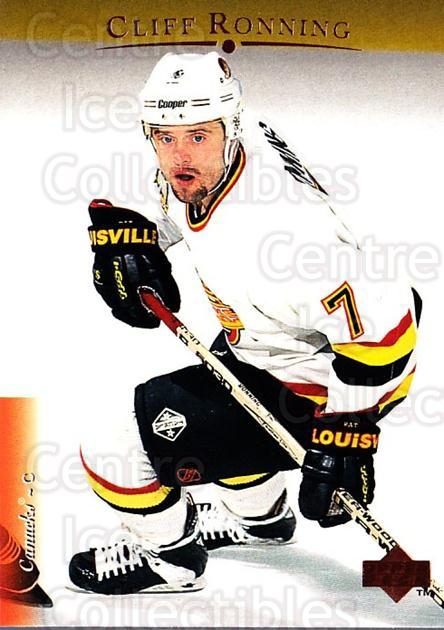 1995-96 Upper Deck #102 Cliff Ronning<br/>6 In Stock - $1.00 each - <a href=https://centericecollectibles.foxycart.com/cart?name=1995-96%20Upper%20Deck%20%23102%20Cliff%20Ronning...&quantity_max=6&price=$1.00&code=185207 class=foxycart> Buy it now! </a>