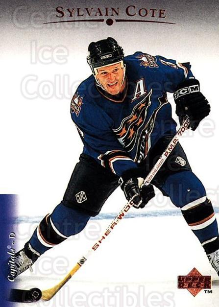 1995-96 Upper Deck #133 Sylvain Cote<br/>6 In Stock - $1.00 each - <a href=https://centericecollectibles.foxycart.com/cart?name=1995-96%20Upper%20Deck%20%23133%20Sylvain%20Cote...&quantity_max=6&price=$1.00&code=185241 class=foxycart> Buy it now! </a>