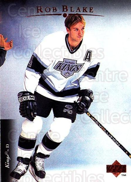 1995-96 Upper Deck #478 Rob Blake<br/>6 In Stock - $1.00 each - <a href=https://centericecollectibles.foxycart.com/cart?name=1995-96%20Upper%20Deck%20%23478%20Rob%20Blake...&quantity_max=6&price=$1.00&code=185616 class=foxycart> Buy it now! </a>