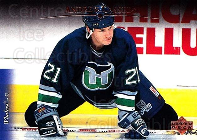 1995-96 Upper Deck #492 Andrew Cassels<br/>7 In Stock - $1.00 each - <a href=https://centericecollectibles.foxycart.com/cart?name=1995-96%20Upper%20Deck%20%23492%20Andrew%20Cassels...&quantity_max=7&price=$1.00&code=185632 class=foxycart> Buy it now! </a>
