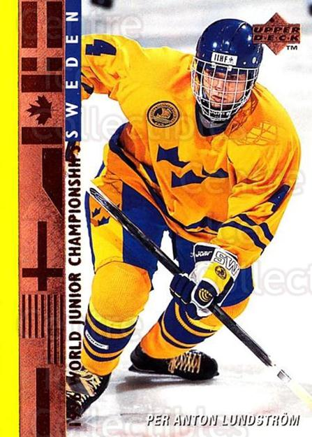 1995-96 Upper Deck #562 Per-Anton Lundstrom<br/>7 In Stock - $1.00 each - <a href=https://centericecollectibles.foxycart.com/cart?name=1995-96%20Upper%20Deck%20%23562%20Per-Anton%20Lunds...&price=$1.00&code=185694 class=foxycart> Buy it now! </a>