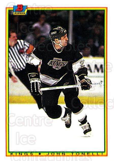 1990-91 Bowman #144 Kelly Hrudey<br/>5 In Stock - $1.00 each - <a href=https://centericecollectibles.foxycart.com/cart?name=1990-91%20Bowman%20%23144%20Kelly%20Hrudey...&quantity_max=5&price=$1.00&code=18572 class=foxycart> Buy it now! </a>