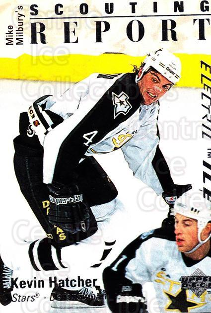 1995-96 Upper Deck Electric Ice #256 Kevin Hatcher<br/>5 In Stock - $2.00 each - <a href=https://centericecollectibles.foxycart.com/cart?name=1995-96%20Upper%20Deck%20Electric%20Ice%20%23256%20Kevin%20Hatcher...&quantity_max=5&price=$2.00&code=185750 class=foxycart> Buy it now! </a>