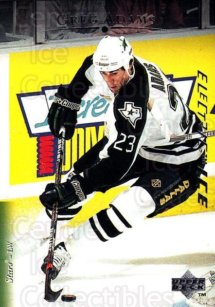 1995-96 Upper Deck Electric Ice #26 Greg Adams<br/>4 In Stock - $2.00 each - <a href=https://centericecollectibles.foxycart.com/cart?name=1995-96%20Upper%20Deck%20Electric%20Ice%20%2326%20Greg%20Adams...&quantity_max=4&price=$2.00&code=185753 class=foxycart> Buy it now! </a>