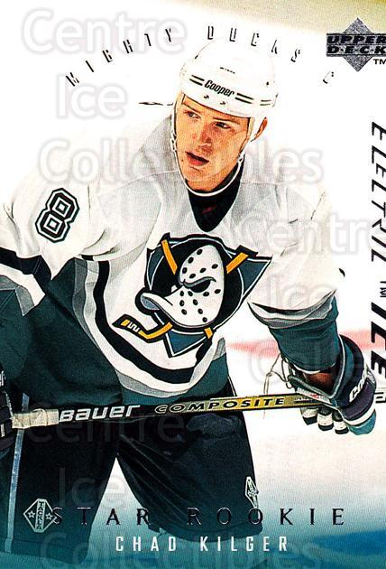 1995-96 Upper Deck Electric Ice #262 Chad Kilger<br/>6 In Stock - $2.00 each - <a href=https://centericecollectibles.foxycart.com/cart?name=1995-96%20Upper%20Deck%20Electric%20Ice%20%23262%20Chad%20Kilger...&quantity_max=6&price=$2.00&code=185756 class=foxycart> Buy it now! </a>