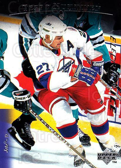 1995-96 Upper Deck Electric Ice #275 Teppo Numminen<br/>8 In Stock - $2.00 each - <a href=https://centericecollectibles.foxycart.com/cart?name=1995-96%20Upper%20Deck%20Electric%20Ice%20%23275%20Teppo%20Numminen...&quantity_max=8&price=$2.00&code=185770 class=foxycart> Buy it now! </a>