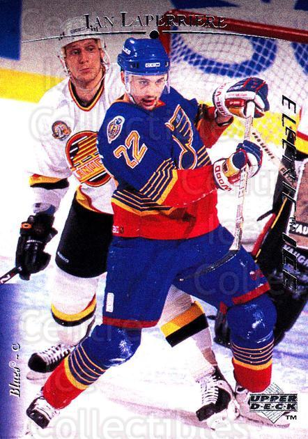1995-96 Upper Deck Electric Ice #32 Ian Laperriere<br/>4 In Stock - $2.00 each - <a href=https://centericecollectibles.foxycart.com/cart?name=1995-96%20Upper%20Deck%20Electric%20Ice%20%2332%20Ian%20Laperriere...&quantity_max=4&price=$2.00&code=185818 class=foxycart> Buy it now! </a>