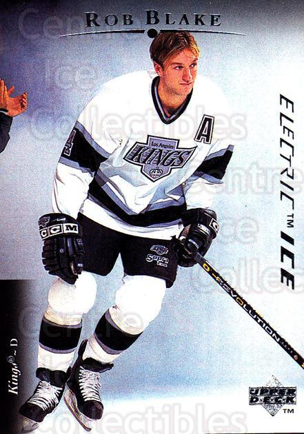 1995-96 Upper Deck Electric Ice #478 Rob Blake<br/>19 In Stock - $2.00 each - <a href=https://centericecollectibles.foxycart.com/cart?name=1995-96%20Upper%20Deck%20Electric%20Ice%20%23478%20Rob%20Blake...&quantity_max=19&price=$2.00&code=185979 class=foxycart> Buy it now! </a>