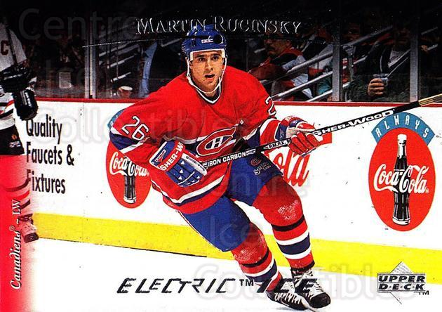1995-96 Upper Deck Electric Ice #485 Martin Rucinsky<br/>12 In Stock - $2.00 each - <a href=https://centericecollectibles.foxycart.com/cart?name=1995-96%20Upper%20Deck%20Electric%20Ice%20%23485%20Martin%20Rucinsky...&quantity_max=12&price=$2.00&code=185986 class=foxycart> Buy it now! </a>