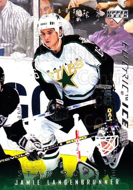 1995-96 Upper Deck Electric Ice #503 Jamie Langenbrunner<br/>9 In Stock - $2.00 each - <a href=https://centericecollectibles.foxycart.com/cart?name=1995-96%20Upper%20Deck%20Electric%20Ice%20%23503%20Jamie%20Langenbru...&quantity_max=9&price=$2.00&code=186005 class=foxycart> Buy it now! </a>