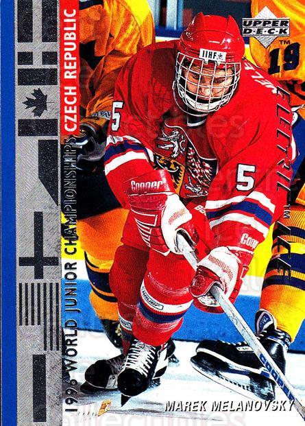 1995-96 Upper Deck Electric Ice #543 Marek Melenovsky<br/>6 In Stock - $2.00 each - <a href=https://centericecollectibles.foxycart.com/cart?name=1995-96%20Upper%20Deck%20Electric%20Ice%20%23543%20Marek%20Melenovsk...&quantity_max=6&price=$2.00&code=186039 class=foxycart> Buy it now! </a>