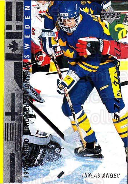 1995-96 Upper Deck Electric Ice #561 Niklas Anger<br/>7 In Stock - $2.00 each - <a href=https://centericecollectibles.foxycart.com/cart?name=1995-96%20Upper%20Deck%20Electric%20Ice%20%23561%20Niklas%20Anger...&price=$2.00&code=186059 class=foxycart> Buy it now! </a>