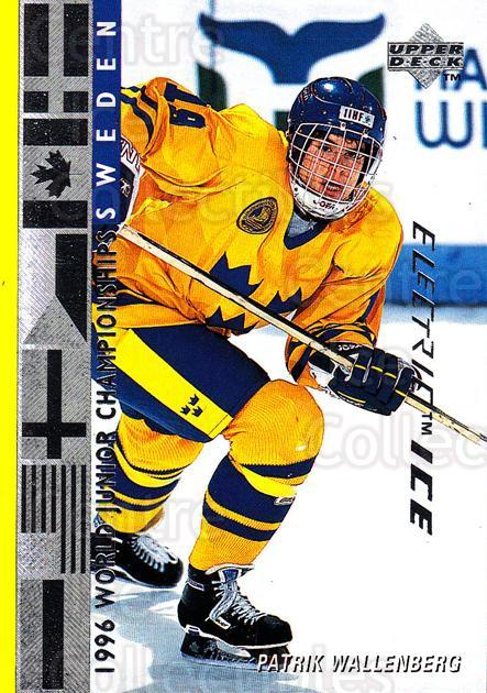 1995-96 Upper Deck Electric Ice #563 Patrik Wallenberg<br/>5 In Stock - $2.00 each - <a href=https://centericecollectibles.foxycart.com/cart?name=1995-96%20Upper%20Deck%20Electric%20Ice%20%23563%20Patrik%20Wallenbe...&price=$2.00&code=186060 class=foxycart> Buy it now! </a>