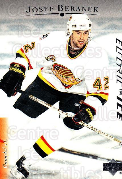 1995-96 Upper Deck Electric Ice #67 Josef Beranek<br/>6 In Stock - $2.00 each - <a href=https://centericecollectibles.foxycart.com/cart?name=1995-96%20Upper%20Deck%20Electric%20Ice%20%2367%20Josef%20Beranek...&quantity_max=6&price=$2.00&code=186076 class=foxycart> Buy it now! </a>