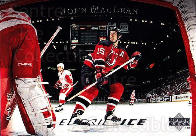 1995-96 Upper Deck Electric Ice #74 John MacLean<br/>5 In Stock - $2.00 each - <a href=https://centericecollectibles.foxycart.com/cart?name=1995-96%20Upper%20Deck%20Electric%20Ice%20%2374%20John%20MacLean...&quantity_max=5&price=$2.00&code=186084 class=foxycart> Buy it now! </a>