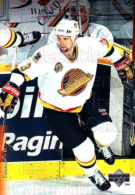1995-96 Upper Deck Electric Ice #95 Bret Hedican<br/>6 In Stock - $2.00 each - <a href=https://centericecollectibles.foxycart.com/cart?name=1995-96%20Upper%20Deck%20Electric%20Ice%20%2395%20Bret%20Hedican...&quantity_max=6&price=$2.00&code=186105 class=foxycart> Buy it now! </a>
