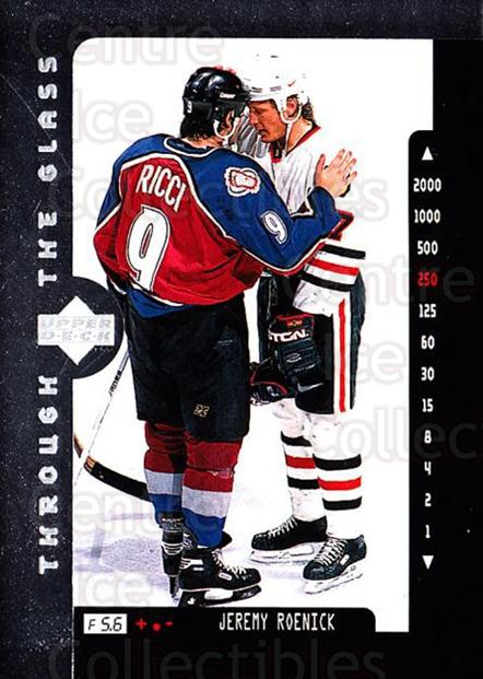 1996-97 Upper Deck #205 Jeremy Roenick<br/>8 In Stock - $1.00 each - <a href=https://centericecollectibles.foxycart.com/cart?name=1996-97%20Upper%20Deck%20%23205%20Jeremy%20Roenick...&quantity_max=8&price=$1.00&code=186299 class=foxycart> Buy it now! </a>