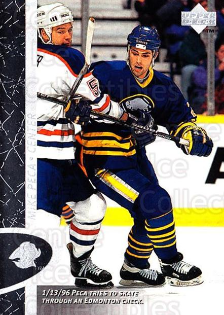 1996-97 Upper Deck #21 Mike Peca<br/>7 In Stock - $1.00 each - <a href=https://centericecollectibles.foxycart.com/cart?name=1996-97%20Upper%20Deck%20%2321%20Mike%20Peca...&quantity_max=7&price=$1.00&code=186304 class=foxycart> Buy it now! </a>