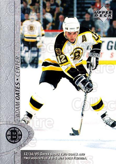 1996-97 Upper Deck #216 Adam Oates<br/>6 In Stock - $1.00 each - <a href=https://centericecollectibles.foxycart.com/cart?name=1996-97%20Upper%20Deck%20%23216%20Adam%20Oates...&quantity_max=6&price=$1.00&code=186311 class=foxycart> Buy it now! </a>