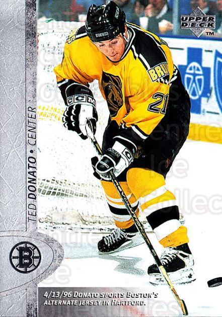 1996-97 Upper Deck #221 Ted Donato<br/>5 In Stock - $1.00 each - <a href=https://centericecollectibles.foxycart.com/cart?name=1996-97%20Upper%20Deck%20%23221%20Ted%20Donato...&quantity_max=5&price=$1.00&code=186317 class=foxycart> Buy it now! </a>