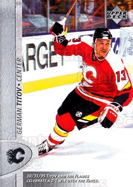 1996-97 Upper Deck #227 German Titov<br/>6 In Stock - $2.00 each - <a href=https://centericecollectibles.foxycart.com/cart?name=1996-97%20Upper%20Deck%20%23227%20German%20Titov...&quantity_max=6&price=$2.00&code=186323 class=foxycart> Buy it now! </a>