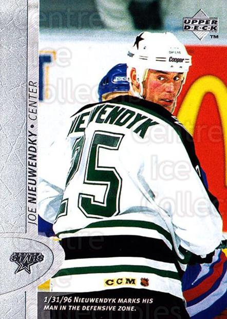 1996-97 Upper Deck #245 Joe Nieuwendyk<br/>5 In Stock - $1.00 each - <a href=https://centericecollectibles.foxycart.com/cart?name=1996-97%20Upper%20Deck%20%23245%20Joe%20Nieuwendyk...&quantity_max=5&price=$1.00&code=186343 class=foxycart> Buy it now! </a>