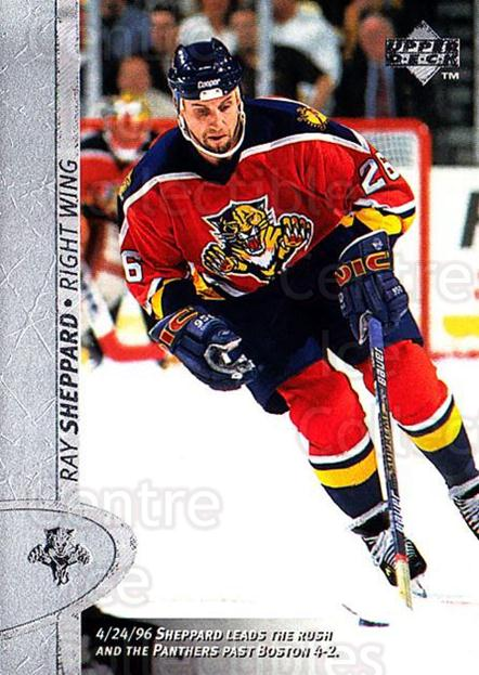 1996-97 Upper Deck #263 Ray Sheppard<br/>6 In Stock - $1.00 each - <a href=https://centericecollectibles.foxycart.com/cart?name=1996-97%20Upper%20Deck%20%23263%20Ray%20Sheppard...&quantity_max=6&price=$1.00&code=186363 class=foxycart> Buy it now! </a>