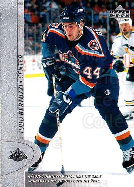 1996-97 Upper Deck #291 Todd Bertuzzi<br/>6 In Stock - $1.00 each - <a href=https://centericecollectibles.foxycart.com/cart?name=1996-97%20Upper%20Deck%20%23291%20Todd%20Bertuzzi...&quantity_max=6&price=$1.00&code=186394 class=foxycart> Buy it now! </a>