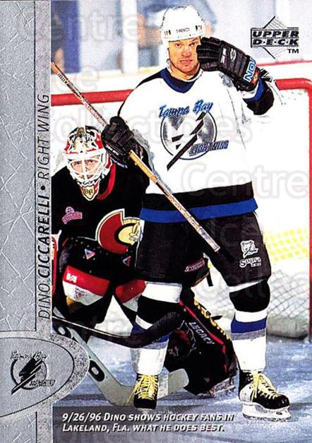 1996-97 Upper Deck #336 Dino Ciccarelli<br/>5 In Stock - $1.00 each - <a href=https://centericecollectibles.foxycart.com/cart?name=1996-97%20Upper%20Deck%20%23336%20Dino%20Ciccarelli...&quantity_max=5&price=$1.00&code=186444 class=foxycart> Buy it now! </a>