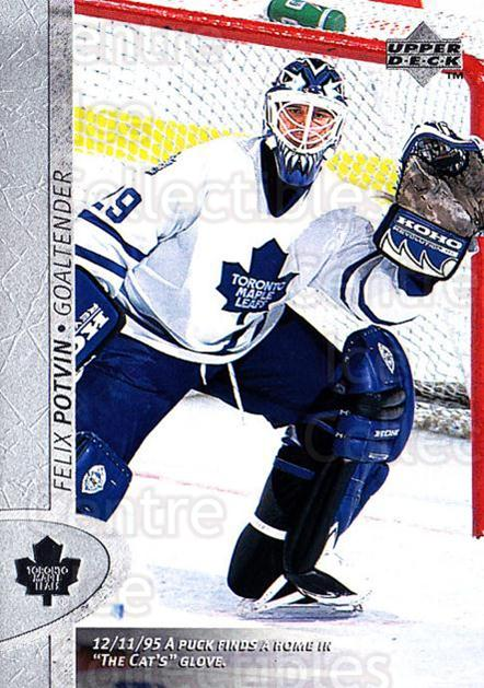 1996-97 Upper Deck #341 Felix Potvin<br/>6 In Stock - $1.00 each - <a href=https://centericecollectibles.foxycart.com/cart?name=1996-97%20Upper%20Deck%20%23341%20Felix%20Potvin...&quantity_max=6&price=$1.00&code=186450 class=foxycart> Buy it now! </a>