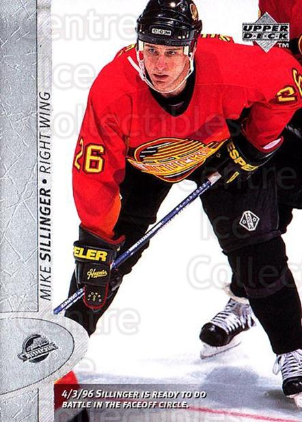 1996-97 Upper Deck #349 Mike Sillinger<br/>6 In Stock - $1.00 each - <a href=https://centericecollectibles.foxycart.com/cart?name=1996-97%20Upper%20Deck%20%23349%20Mike%20Sillinger...&quantity_max=6&price=$1.00&code=186458 class=foxycart> Buy it now! </a>