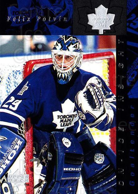 1996-97 Upper Deck #360 Felix Potvin<br/>5 In Stock - $1.00 each - <a href=https://centericecollectibles.foxycart.com/cart?name=1996-97%20Upper%20Deck%20%23360%20Felix%20Potvin...&quantity_max=5&price=$1.00&code=186471 class=foxycart> Buy it now! </a>