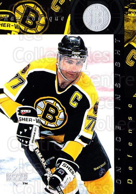 1996-97 Upper Deck #366 Ray Bourque<br/>6 In Stock - $1.00 each - <a href=https://centericecollectibles.foxycart.com/cart?name=1996-97%20Upper%20Deck%20%23366%20Ray%20Bourque...&quantity_max=6&price=$1.00&code=186477 class=foxycart> Buy it now! </a>