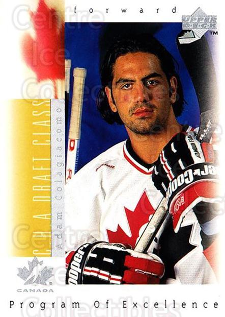 1996-97 Upper Deck #369 Adam Colagiacomo<br/>1 In Stock - $1.00 each - <a href=https://centericecollectibles.foxycart.com/cart?name=1996-97%20Upper%20Deck%20%23369%20Adam%20Colagiacom...&quantity_max=1&price=$1.00&code=186480 class=foxycart> Buy it now! </a>