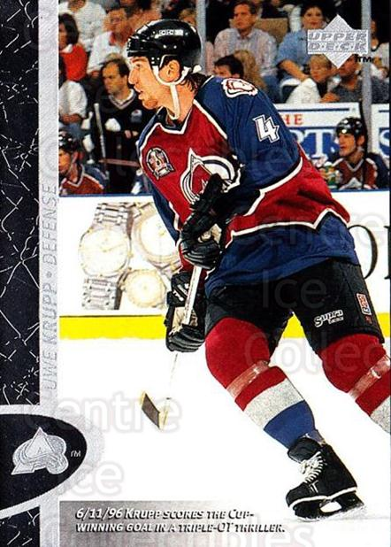 1996-97 Upper Deck #39 Uwe Krupp<br/>8 In Stock - $1.00 each - <a href=https://centericecollectibles.foxycart.com/cart?name=1996-97%20Upper%20Deck%20%2339%20Uwe%20Krupp...&quantity_max=8&price=$1.00&code=186497 class=foxycart> Buy it now! </a>