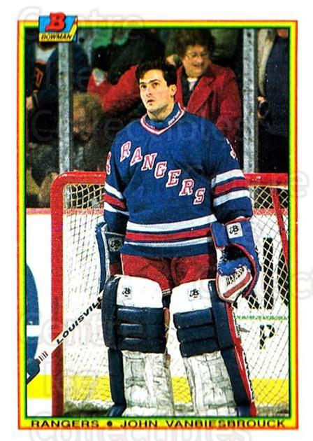1990-91 Bowman #218 Mike Richter<br/>7 In Stock - $1.00 each - <a href=https://centericecollectibles.foxycart.com/cart?name=1990-91%20Bowman%20%23218%20Mike%20Richter...&quantity_max=7&price=$1.00&code=18652 class=foxycart> Buy it now! </a>