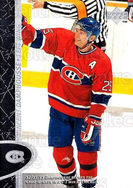 1996-97 Upper Deck #86 Vincent Damphousse<br/>8 In Stock - $1.00 each - <a href=https://centericecollectibles.foxycart.com/cart?name=1996-97%20Upper%20Deck%20%2386%20Vincent%20Damphou...&quantity_max=8&price=$1.00&code=186546 class=foxycart> Buy it now! </a>