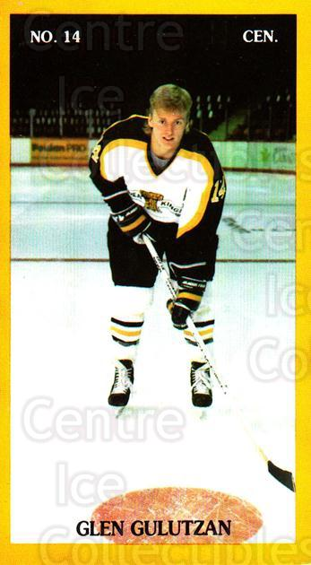 1990-91 Brandon Wheat Kings #24 Glen Gulutzan<br/>2 In Stock - $3.00 each - <a href=https://centericecollectibles.foxycart.com/cart?name=1990-91%20Brandon%20Wheat%20Kings%20%2324%20Glen%20Gulutzan...&quantity_max=2&price=$3.00&code=18684 class=foxycart> Buy it now! </a>