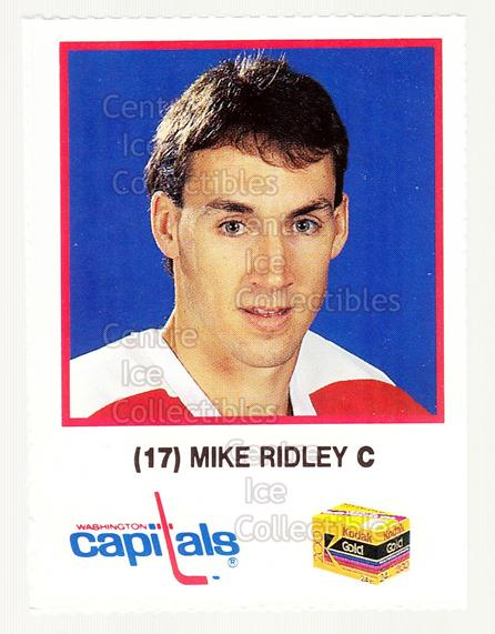 1990-91 Washington Capitals Kodak #22 Mike Ridley<br/>3 In Stock - $3.00 each - <a href=https://centericecollectibles.foxycart.com/cart?name=1990-91%20Washington%20Capitals%20Kodak%20%2322%20Mike%20Ridley...&quantity_max=3&price=$3.00&code=18719 class=foxycart> Buy it now! </a>